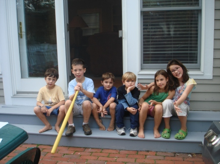The Kids:  Ben, Ian, Nicky, Luke, Hilary, Audrey