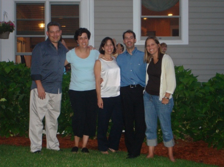 The Adults:  James, Betsy, Marianne, Scott, Me