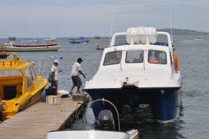 Our boat to Lombok